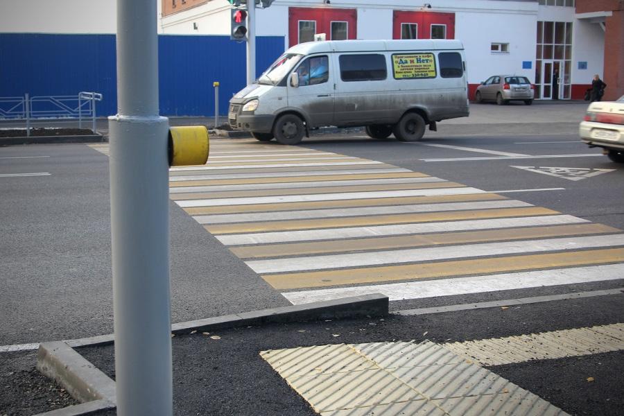 ВКрасноярском крае при помощи спецкраски обновят дорожную разметку