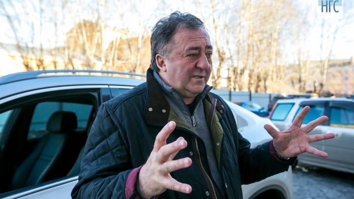 Ломанов-старший восстановлен в должности тренера хоккейного клуба «Енисей»