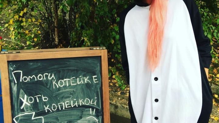 Красноярская учительница распродает свою одежду для лечения бездомных животных