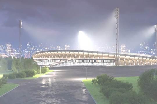 При реставрации на Центральном стадионе планируется сделать антитеррористическую защиту