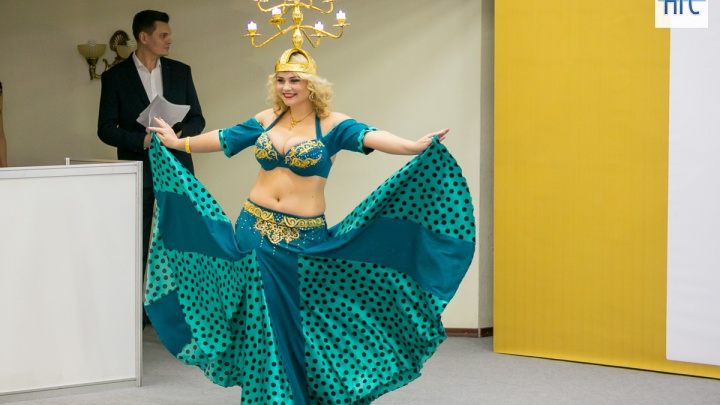 Самую красивую обладательницу нестандартных форм выбрали в Красноярске на конкурсе «Мисс Пышка»