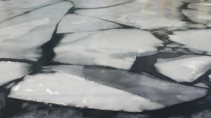 Рыбак нашел вмерзшее в лед Енисея тело у острова Посадный