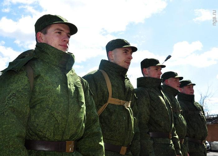 Ввесенний призыв изКрасноярского края отправятся служить 2600 человек