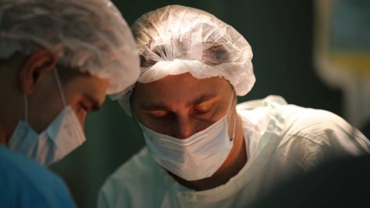 Хирург впервые в истории края из печени больного вырезал паразита длиной 9 см