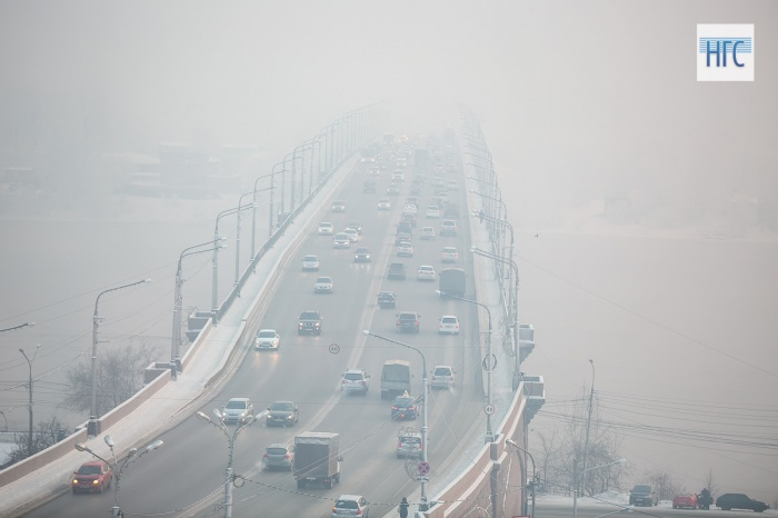 ВРоспотребнадзоре зафиксировали ухудшение состояния атмосферного воздуха вКрасноярске впредыдущем году
