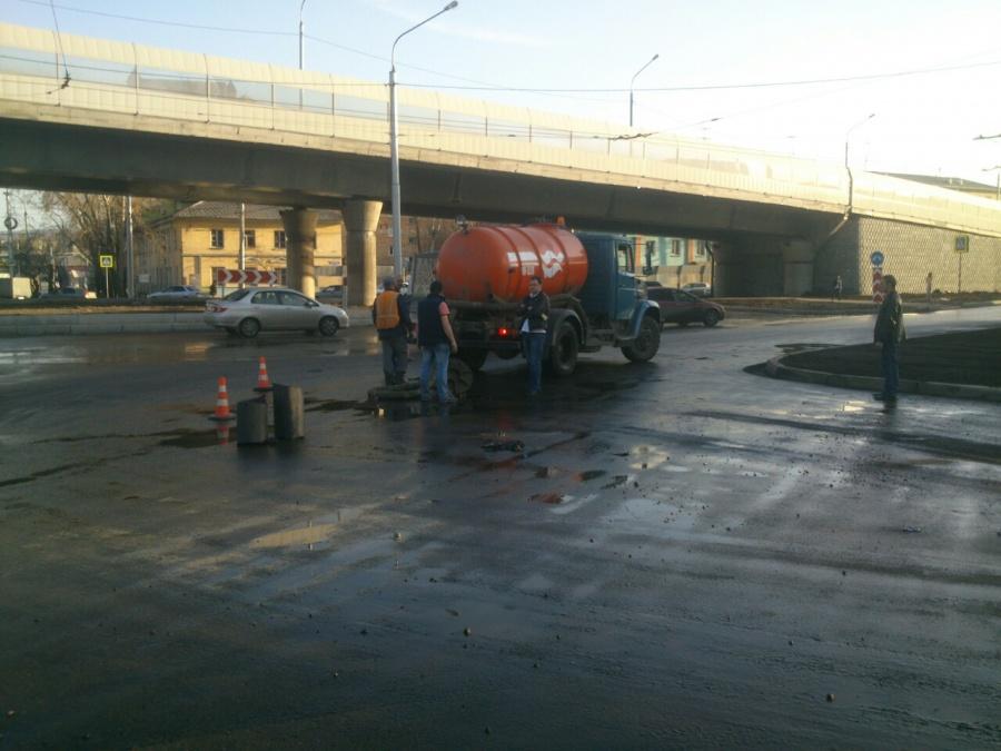 ВКрасноярске без холодной воды остались десятки тыс. человек