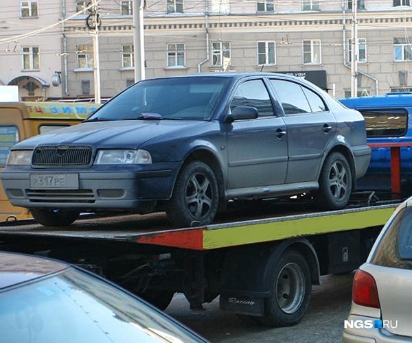 Вцентре Кемерова на 2-х дорогах запретят стоянку иостановку авто