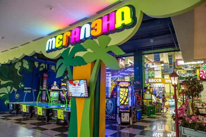 ВТРЦ Планета откроется 1-ый  вКузбассе парк развлечений Мегалэнд