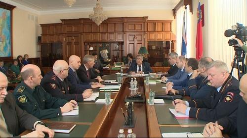 Прошло экстренное совещание антитеррористической комиссии