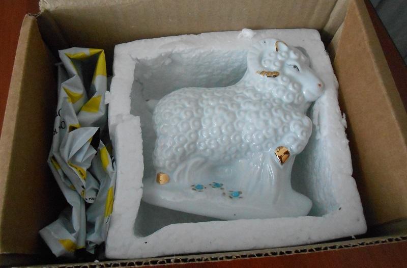 Кузбассовец вместо приобретенного вглобальной сети навигатора получил фарфоровую статуэтку барана