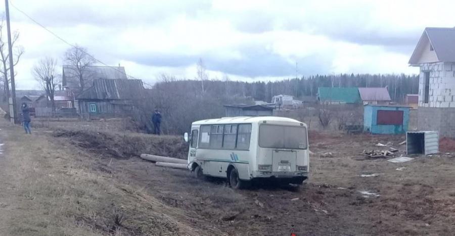 ВНижегородской области автобус съехал вкювет, пострадали 15 человек