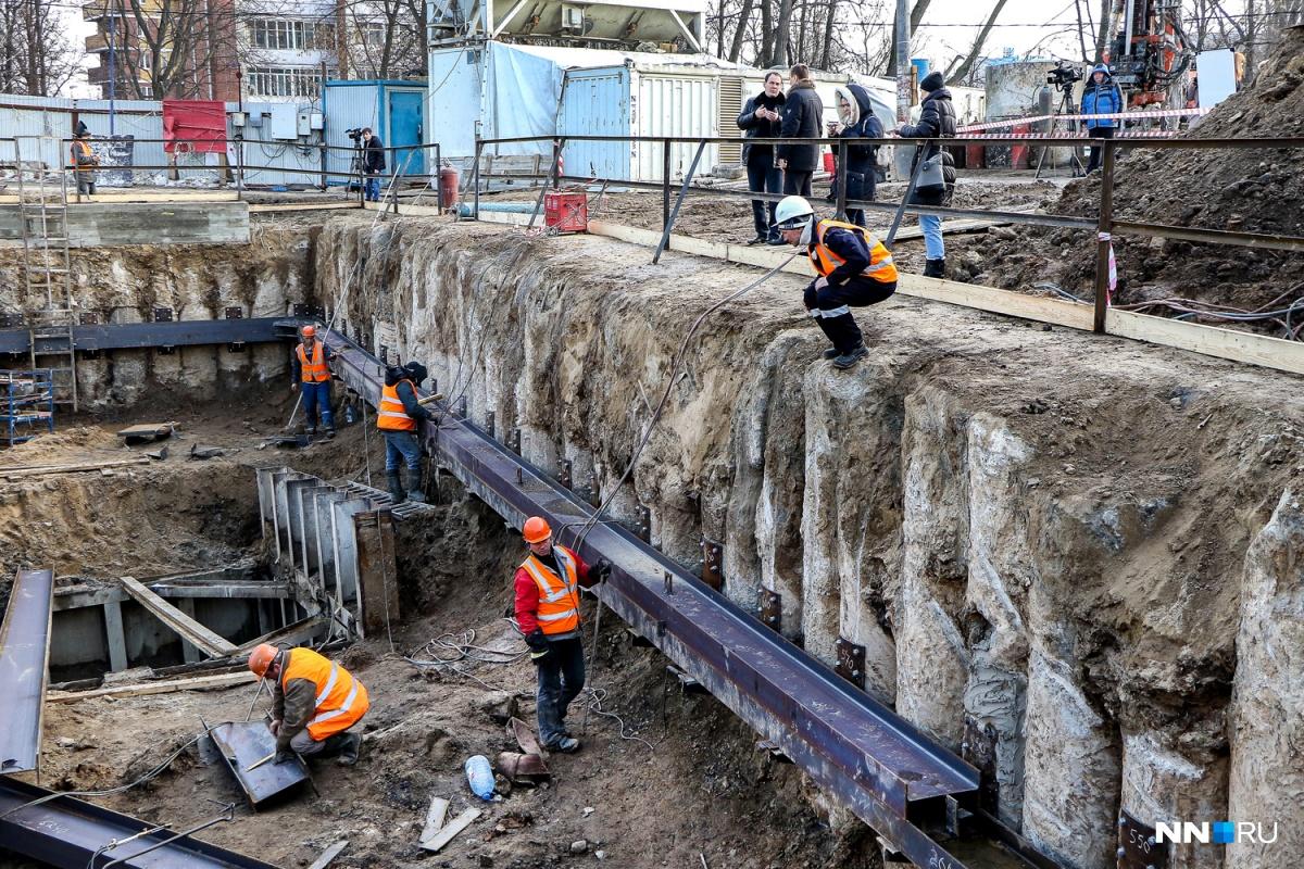 Реконструкция коллектора наулице Горная сопоставима состроительством метро