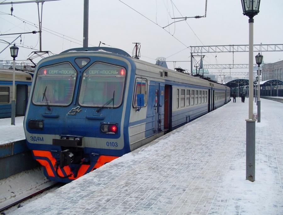 Поезд насмерть сбил мужчину наплатформе Ярославского вокзала в столице