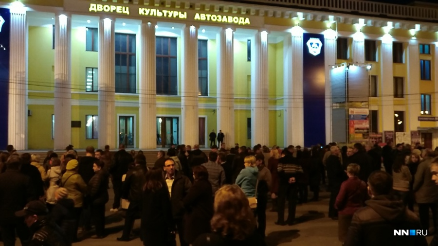 Концерт «Машины времени» прервали вНижнем из-за сообщения обомбе