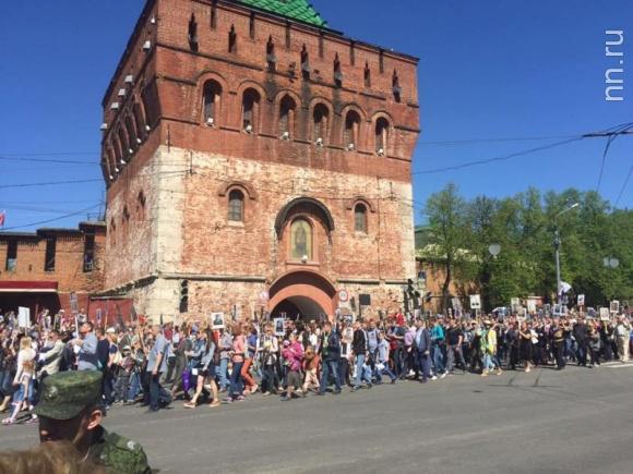 Маршрут «Бессмертного полка» вНижнем Новгороде поменяется