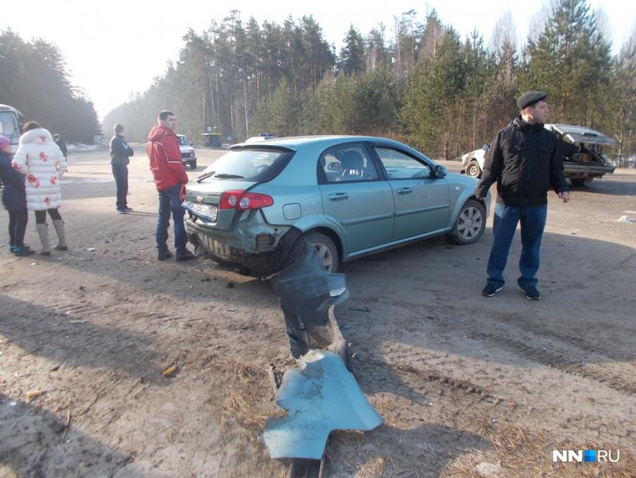 Шесть человек пострадали при столкновении ВАЗа и Ауди вНижегородской области