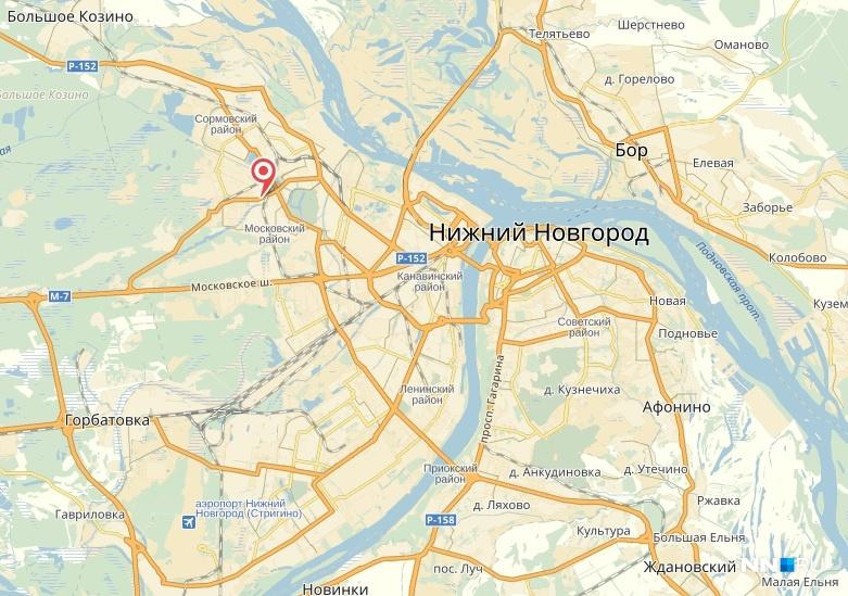 карта нижний новгород яндекс скачать - фото 2