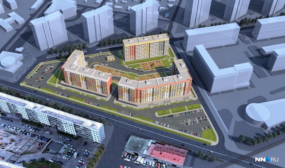 ЖК Матрешки в Краснодаре планировки и цены от застройщика