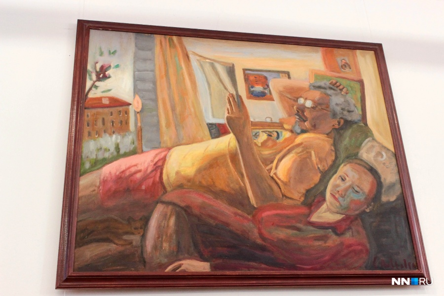 ВНижнем Новгороде откроется выставка живописи Сергея Лобковского