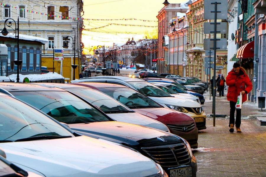 ВНижегородском районе появятся две платные городские парковки
