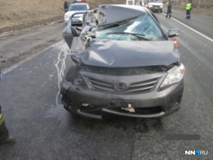 4-летний ребенок пострадал встолкновении иномарки с грузовым автомобилем вКстовском районе