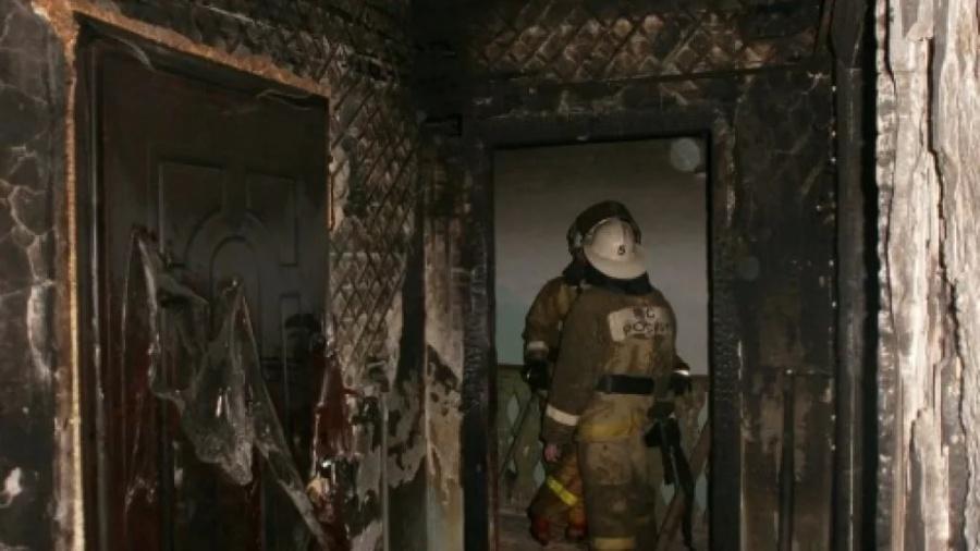 ВНижегородской области зажегся личный дом: пострадала 40-летняя женщина
