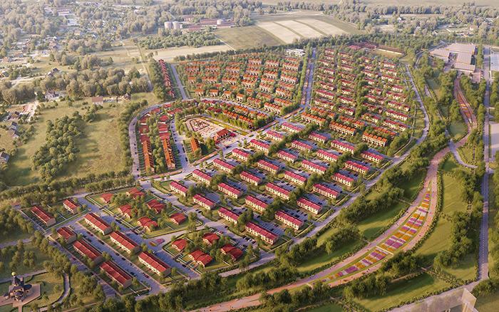 "В микрогороде ""Стрижи"" строятся новые дома с квартирами Евроформата"