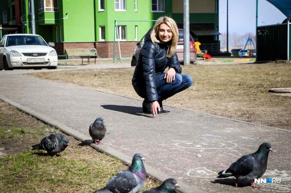 Ольга Мелёшина научилась радоваться жизни. Фото: Наталья Бурухина