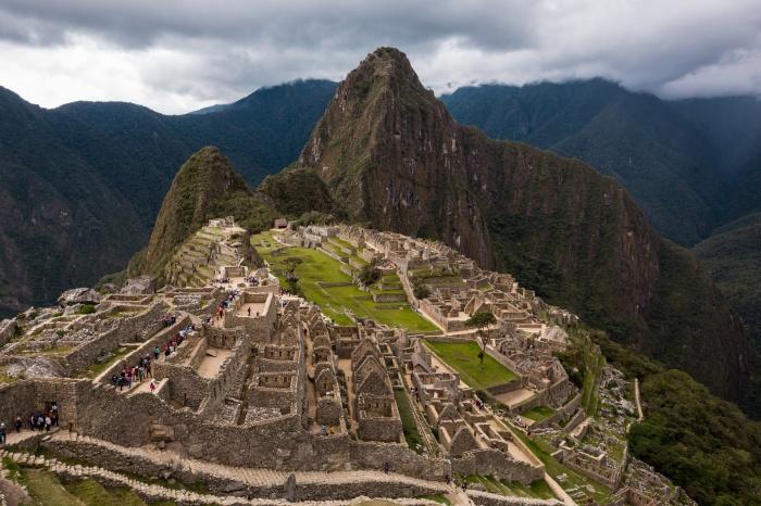 Мачу-Пикчу —таинственный город инков, построенный в середине XV века