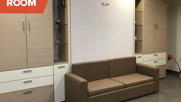 Новым мебельным решением для малогабариток признан шкаф-кровать-диван