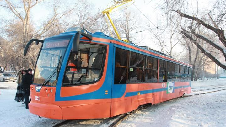 Ждем трамвая