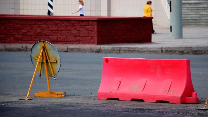 Улицы по всему Новосибирску перекроют из-за первомайских гуляний