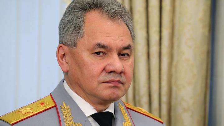 В Новосибирск прилетел министр обороны Сергей Шойгу