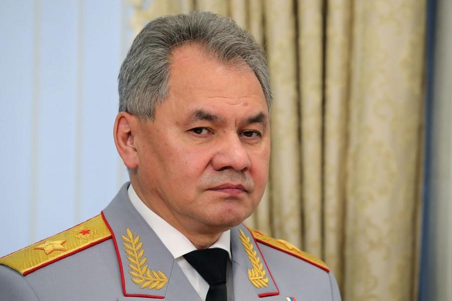 ВНовосибирск прибыл синспекцией министр обороныРФ Сергей Шойгу