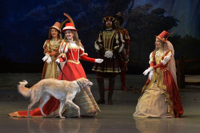 Сцена из балета «Жизель, или Вилисы»