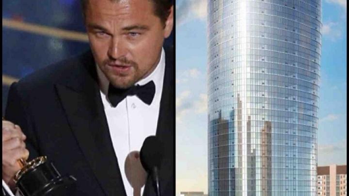 В Новосибирске Леонардо ДиКаприо ждет свой железобетонный «Оскар»