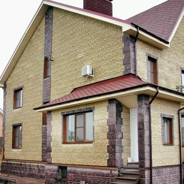 Новый материал для облицовки частных домов!