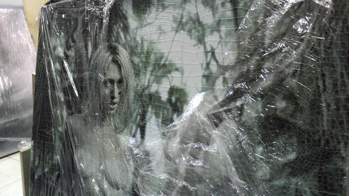 В лофте на Фрунзе покажут эротические картины из кожи, стали и фанеры