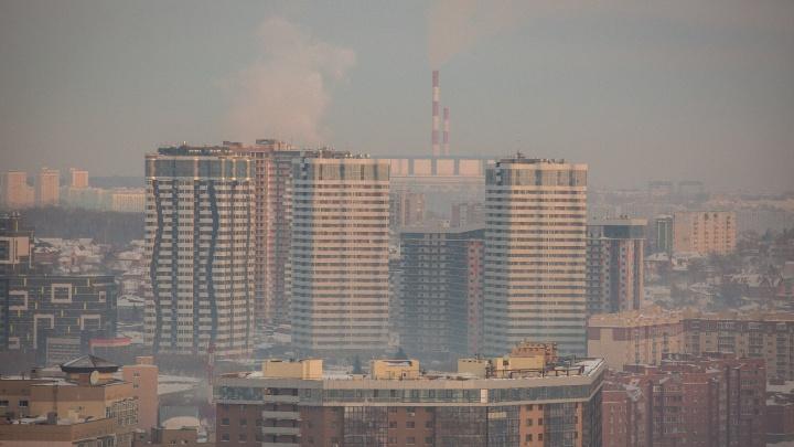 Данные о качестве воздуха в Новосибирске попали в интернет
