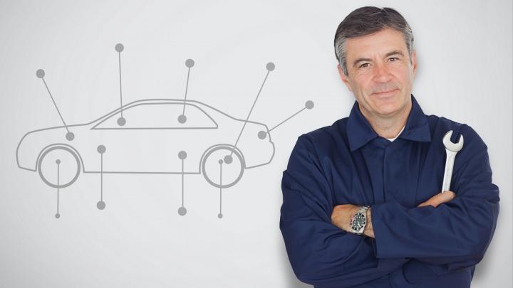 Эксперты советуют начинать сервисные работы с диагностики автомобиля