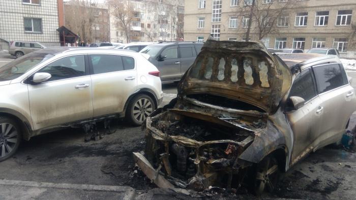 Последствия пожара на ул. Ватутина