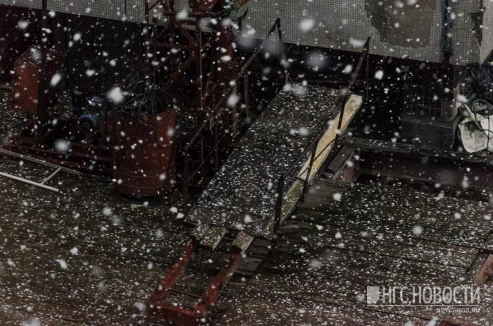 Новосибирск ожидает снегопад