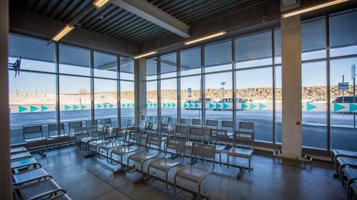 Мини-автовокзал для междугородных рейсов открылся на Северном объезде