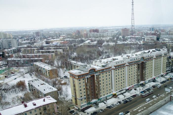 Вид на Ленинский район из «Сан Сити»