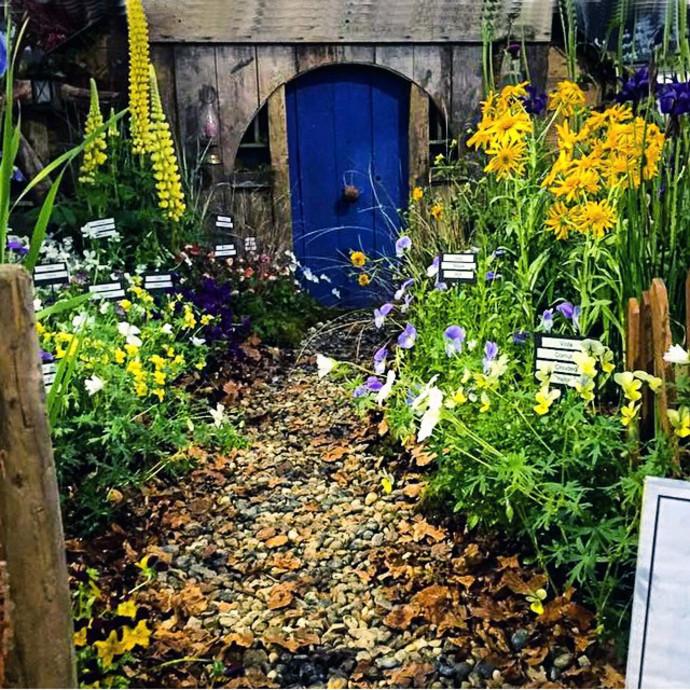 Модный сад