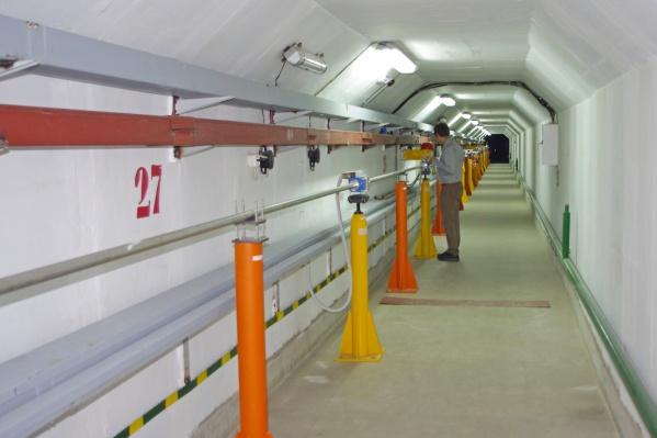 Каналы транспортировки инжекционного комплекса для проекта «Супер Чарм-Тау фабрика», фото предоставлено ИЯФ СО РАН<br>