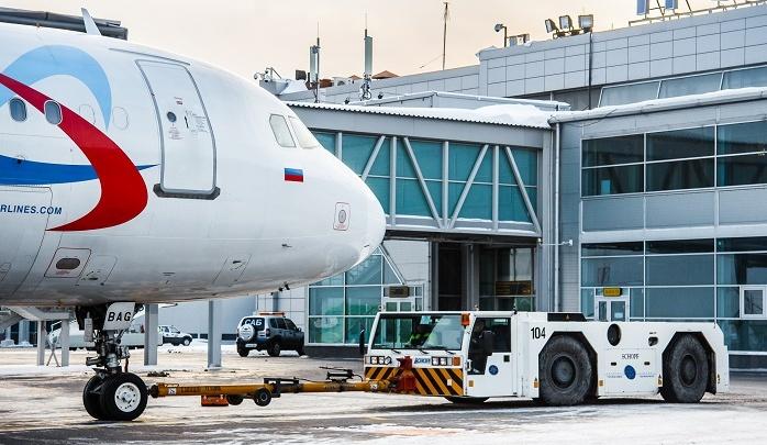 В феврале пассажиропоток «Толмачёво» вырос на четверть