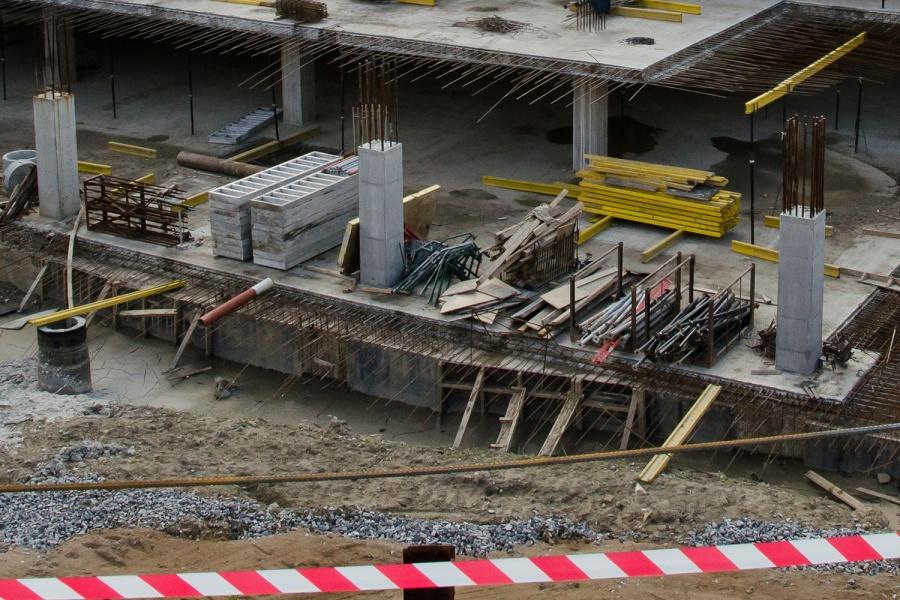 Обрушились перекрытия строящегося гипермаркета вНовосибирске 22марта 2017-ого