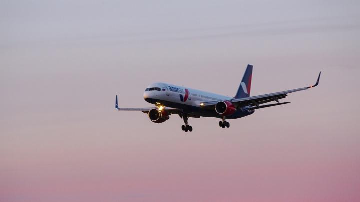 Новосибирцев насторожил кружащий над городом самолет