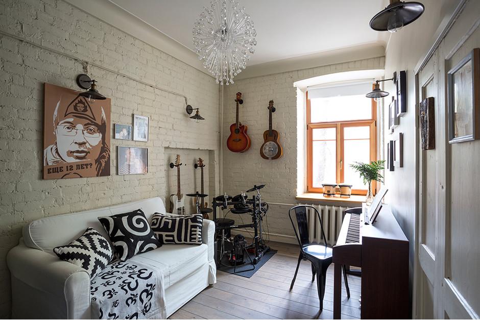 Московская квартира для двоих в старом доме